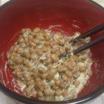 【耐食回復食最終日】よく混ぜ納豆