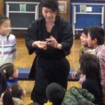 【子供会でマジックショー】愛知県東海市に忍者が出張!